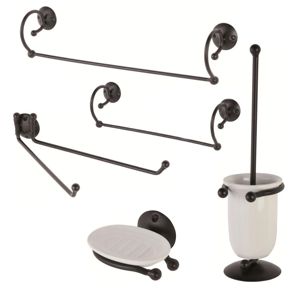 Accessori per il bagno in ferro battuto a padova e vicenza for Accessori per bagno