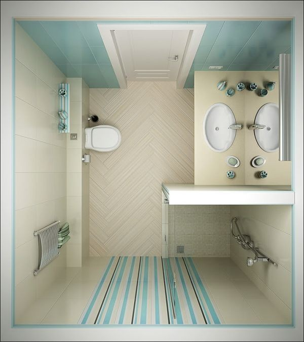 idee bagno rettangolare: idee e foto di stanze da bagno moderne. - Piastrelle Bagno Moderno Piccolo