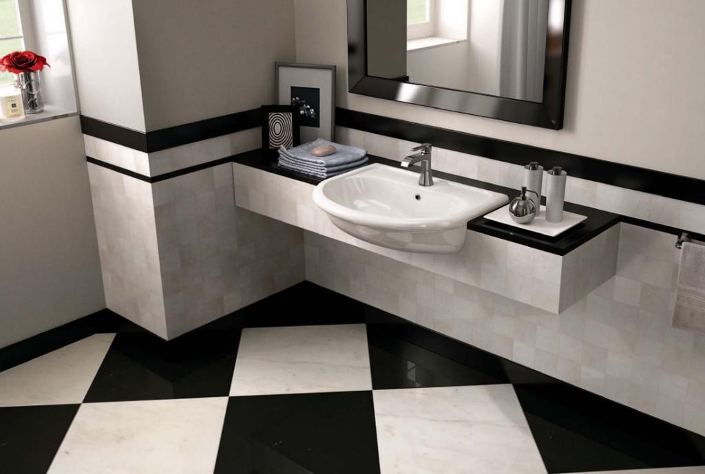 Come rivestire un bagno moderno rivestimenti per bagno - Bagno moderno piastrelle ...