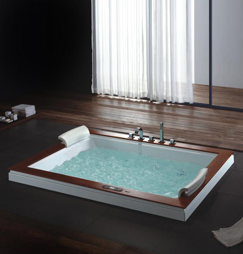 Come scegliere la vasca idromassaggio - Tappeto idromassaggio per vasca da bagno ...