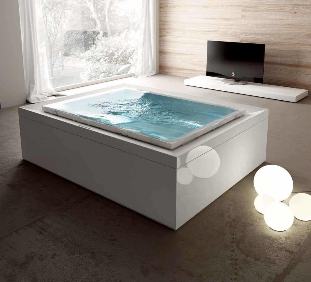 Vasche da bagno particolari - Fasciatoio bagno ...