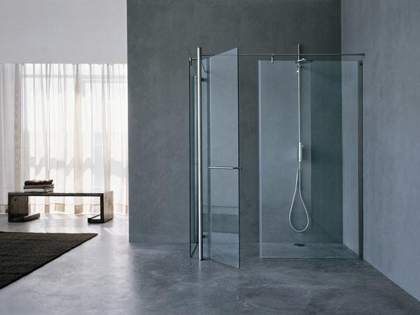 Doccia a pavimento padova bagno di design - Piatto doccia incassato nel pavimento ...