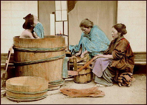 Vasca Da Bagno Giapponese In Legno : Ofuro: il rituale del bagno giapponese