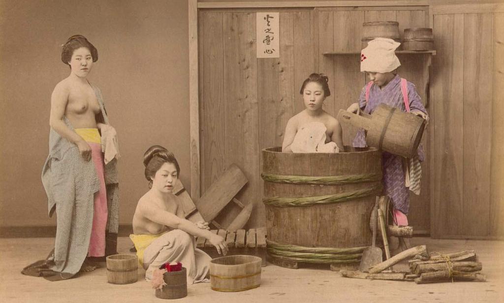 Bagno Giapponese Benessere : Vasca da bagno in legno idromassaggio professionale