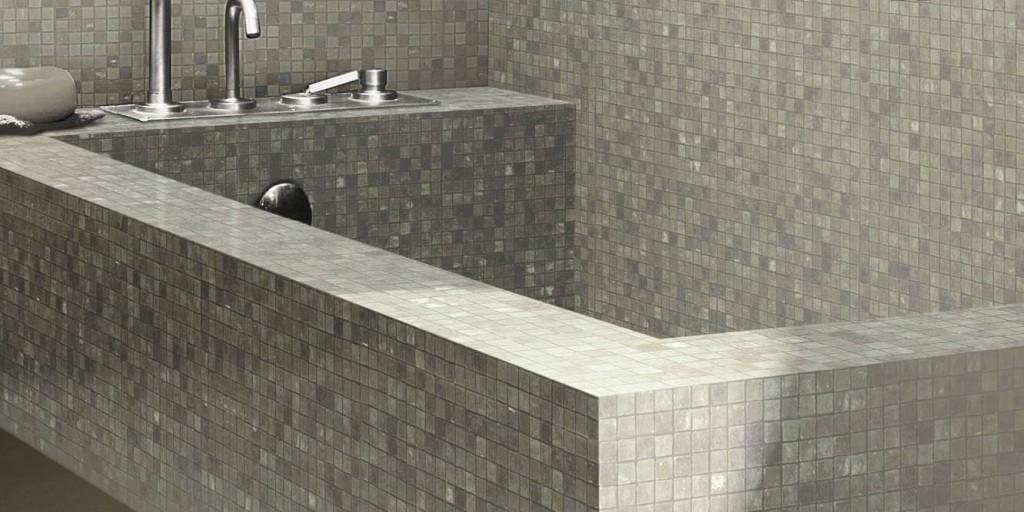 Vasche da bagno in muratura a padova vasca da bagno mosaico - Vasca da bagno in cemento ...