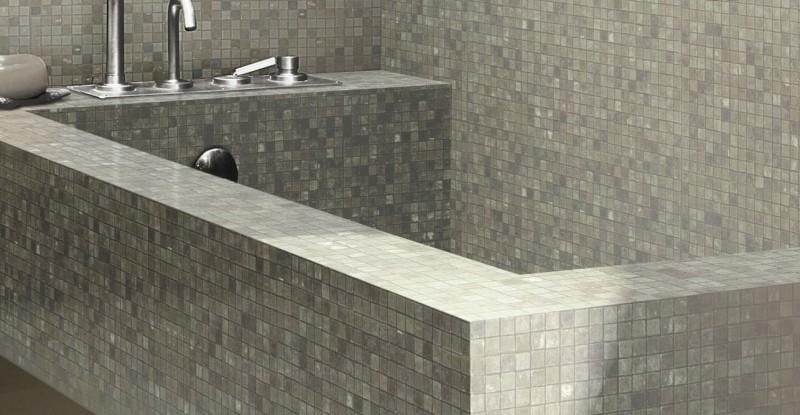 Vasca Da Bagno Da Incasso : Vasche da bagno in muratura a padova vasca da bagno mosaico