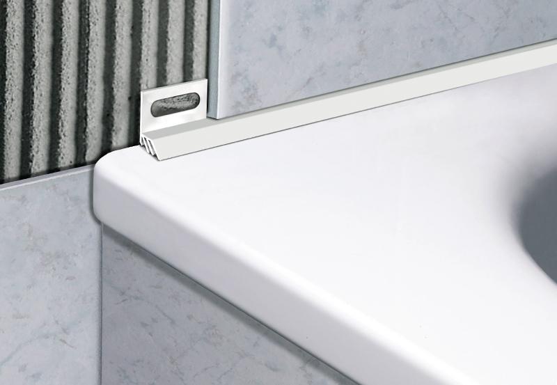 Profili per sanitari profili per box doccia profilpas - Profili jolly per piastrelle ...
