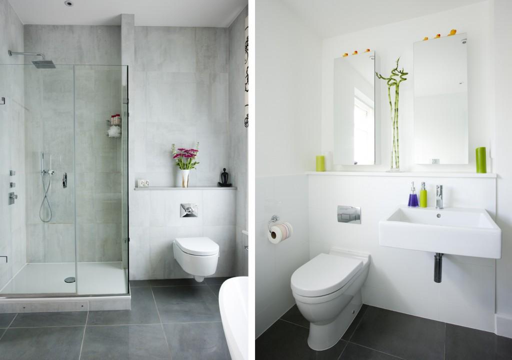 Come arredare un bagno piccolo arredamento per bagno - Porte per bagni ...