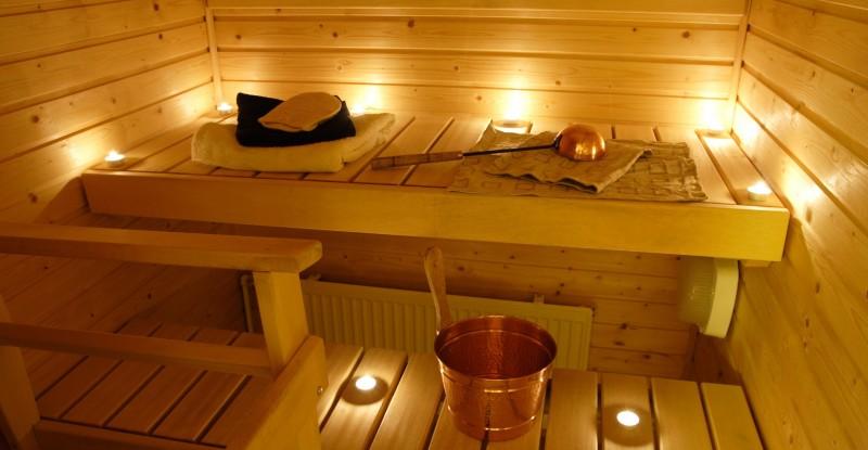 Sauna e bagno turco u dojo home