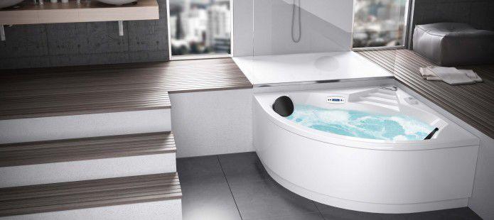 Vasca doccia idromassaggio grandform padova e vicenza for Baignoire non encastrable