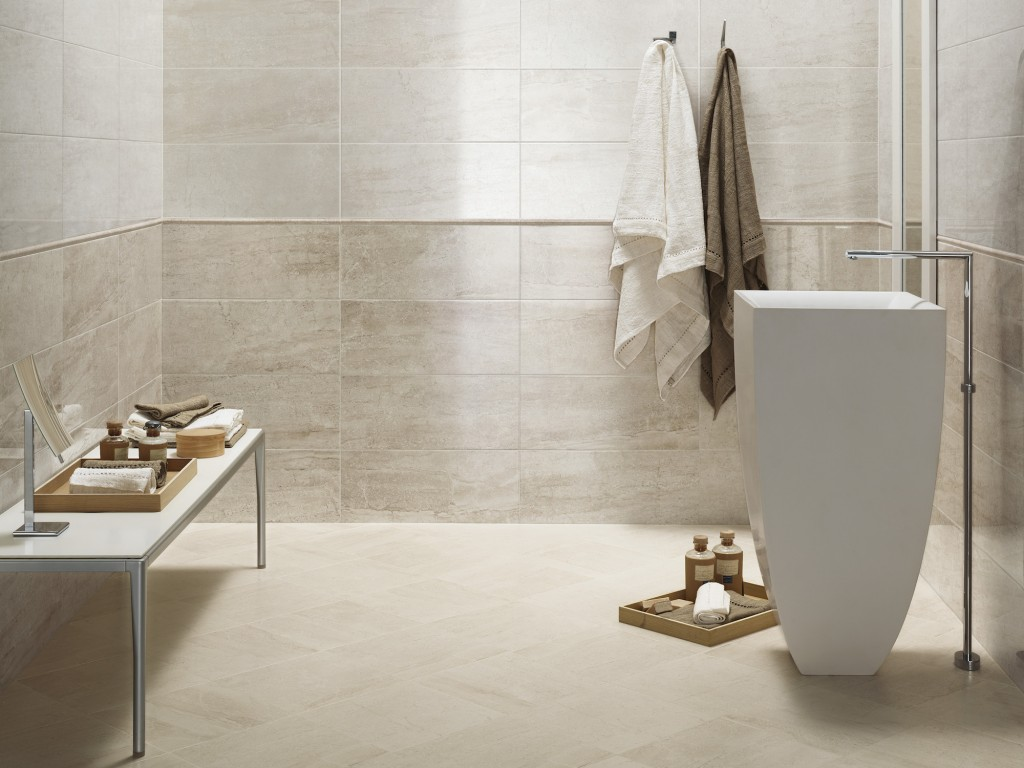 Scegliere il pavimento del bagno pavimentazioni bagno - Piastrelle bagno legno ...