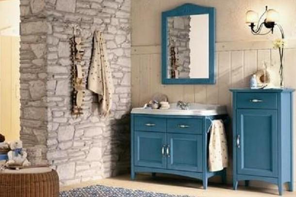 Come arredare un bagno in stile country arredo bagno country - Mobili per case di campagna ...
