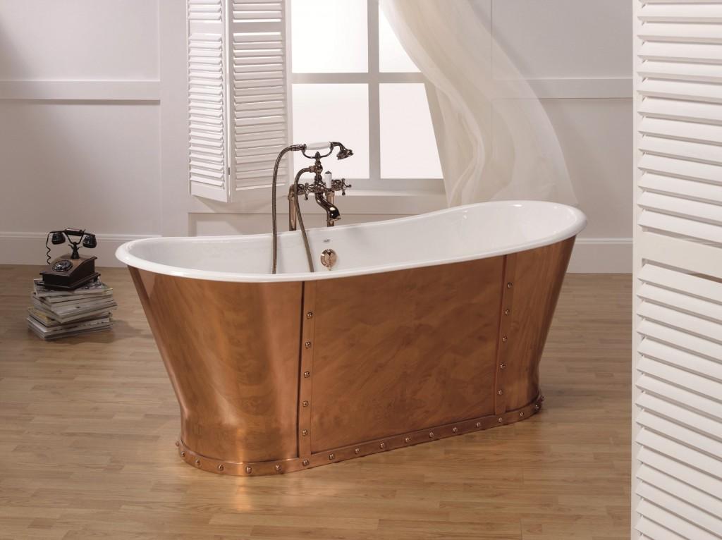 Come arredare il bagno in stile provenzale - Cuffie da bagno vintage ...
