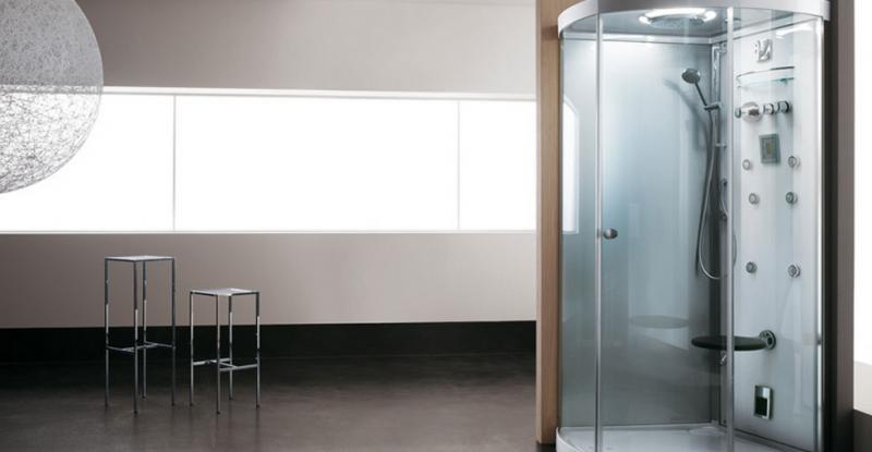 Doccia cabina multifunzione : Cabina doccia multifunzione chiusura soft close doppia porta