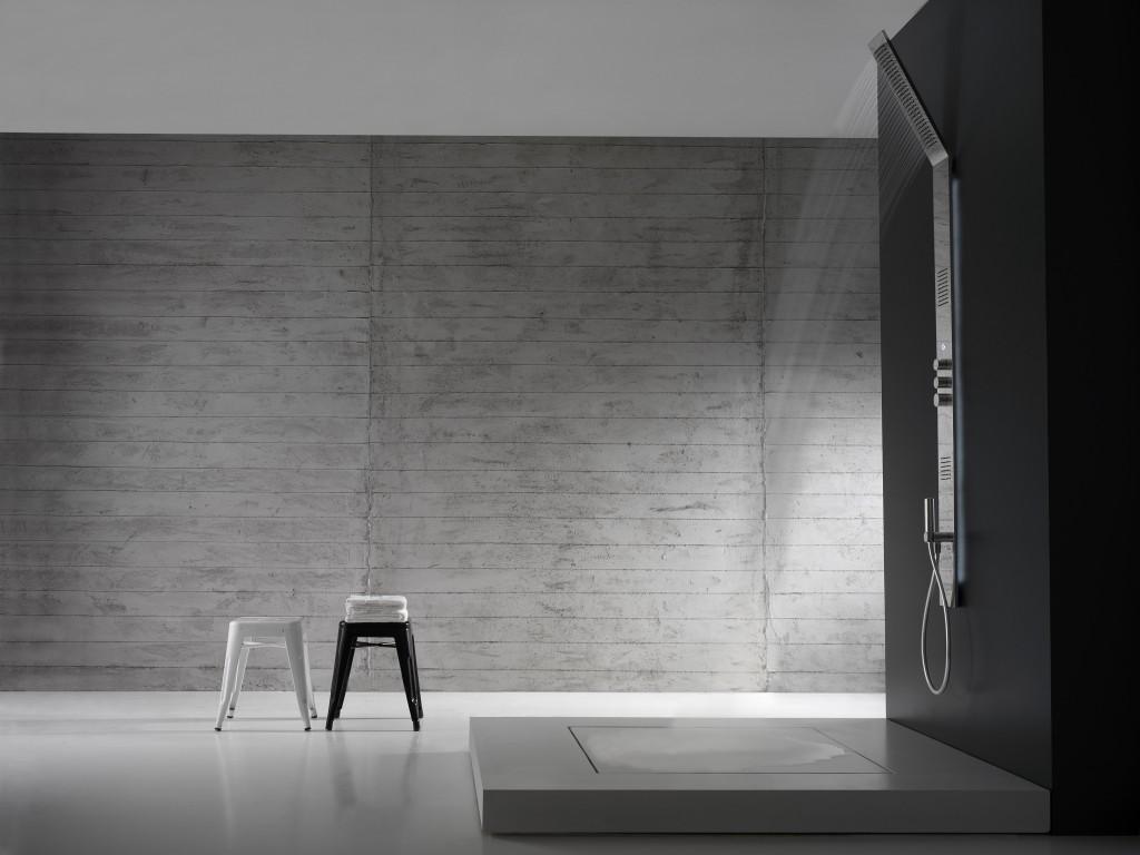 Colonna doccia obliqua zazzeri a padova e vicenza