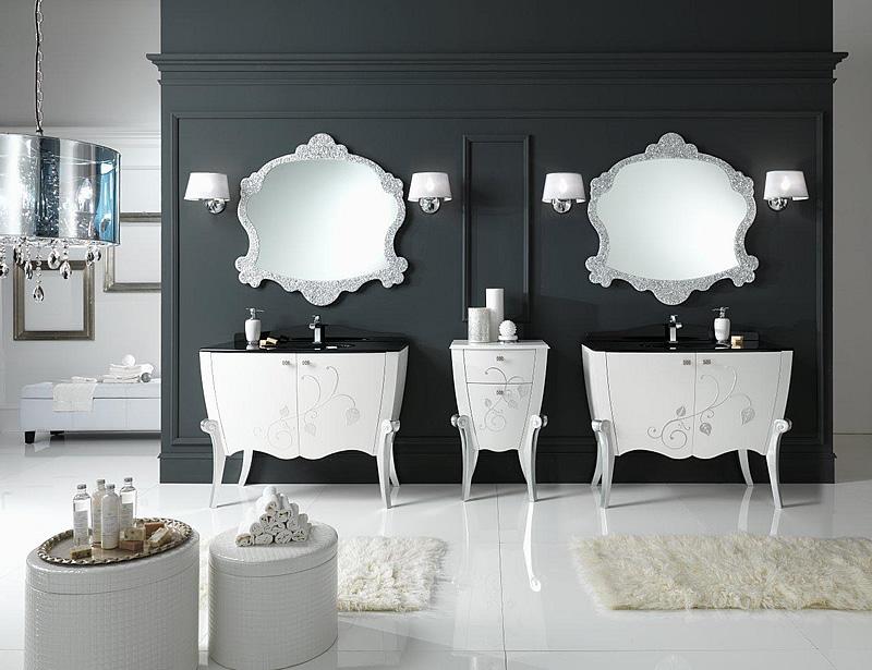 Come arredare un bagno classico con eleganza e sobriet - Ceramiche bagno classico ...