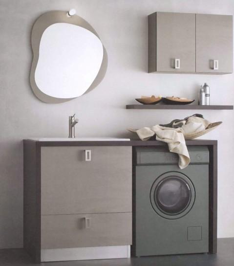 Come arredare un bagno con lavanderia a padova vicenza for Arredo bagno con lavatrice