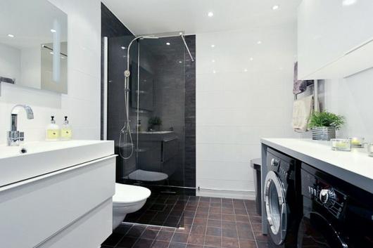 Come arredare un bagno con lavanderia a padova vicenza - Lavatrice in bagno soluzioni ...