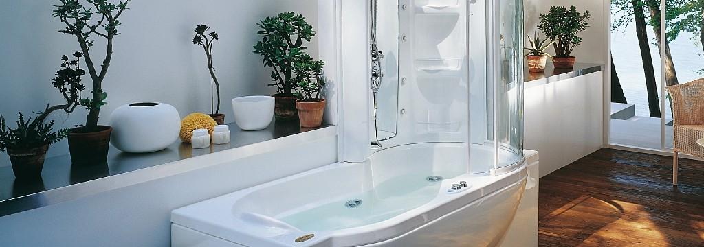 Chiusura doccia per vasca da bagno a padova e vicenza for Vasca e doccia combinate