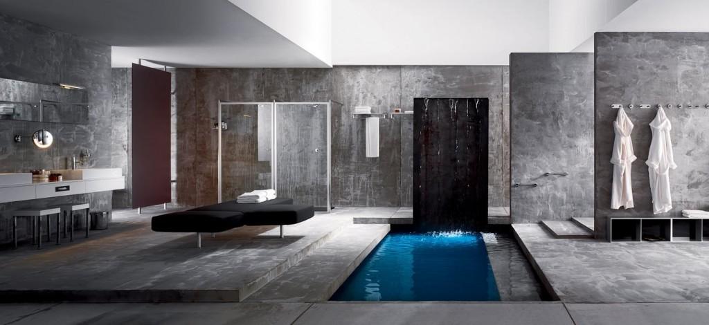 Mensole moderne da bagno a padova e vicenza - Mensole bagno design ...