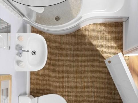 Dimensioni Di Una Vasca Da Bagno : Come arredare un bagno piccolo con vasca da bagno