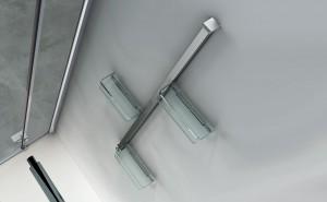 portaoggetti doccia in acciaio inox PAdova e VicenzA