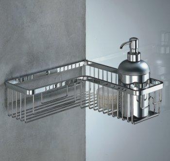 Portaoggetti doccia in acciaio inox a padova e vicenza - Accessori bagno portaoggetti ...