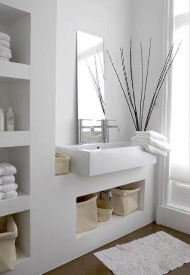 ottimizzare spazio in bagno