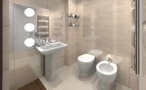 arredare bagno di servizio