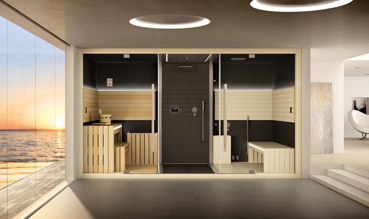 doccia sauna Jacuzzi Vicenza