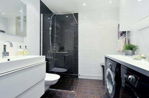 Come arredare un bagno con lavatrice - Creare un bagno con sanitrit ...