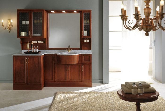 Come arredare un bagno in legno - Arredare un bagno moderno ...