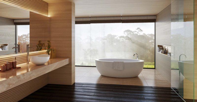 Lavabo in legno moderno bagno in stile di jfd juri favilli