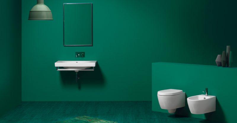 Idee per un arredo bagno colorato - Migliori sanitari bagno ...