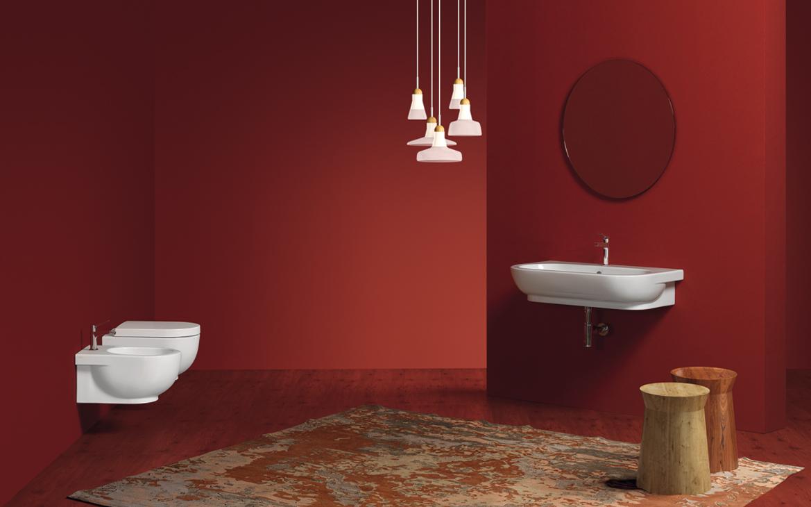 Accessori Per Il Bagno Colorati : Idee per un arredo bagno colorato