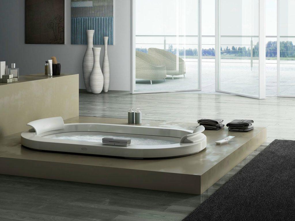 Vasca Da Bagno Angolare Jacuzzi : Vasche da bagno jacuzzi. set di miscelatori per lavabo bidet e vasca
