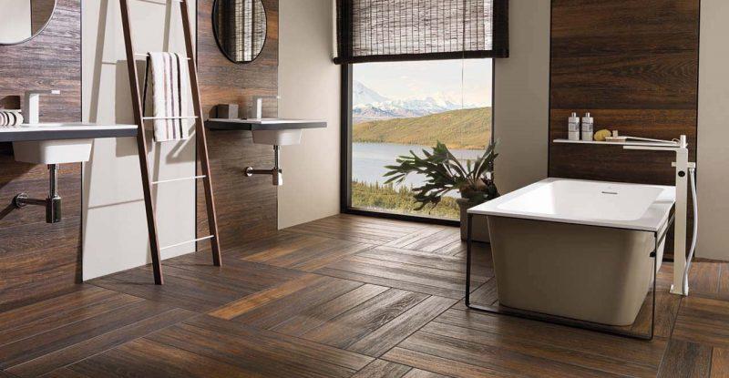 Parquet in bagno | Arredo bagno | Beltrame SpA Blog