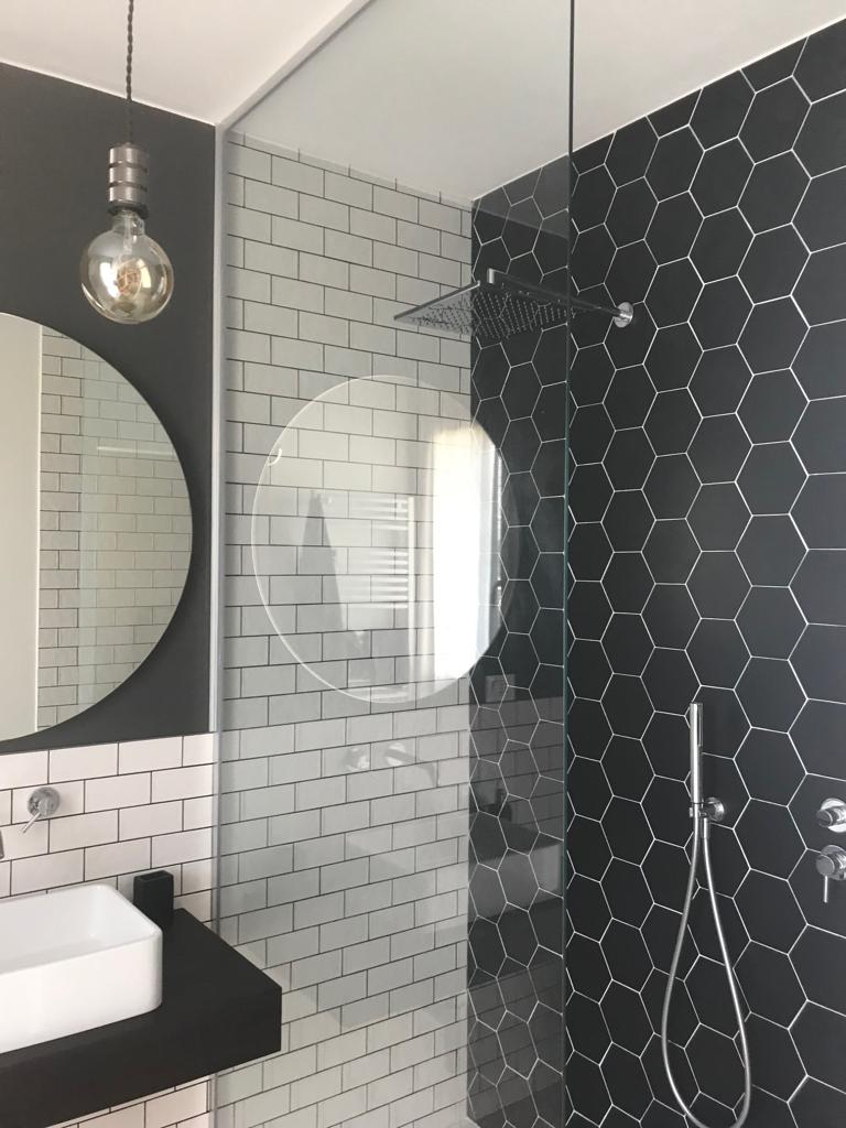 Industrial style, arredo bagno